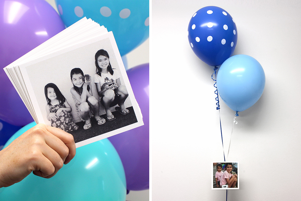 Make Mother's Day with Floating Photos