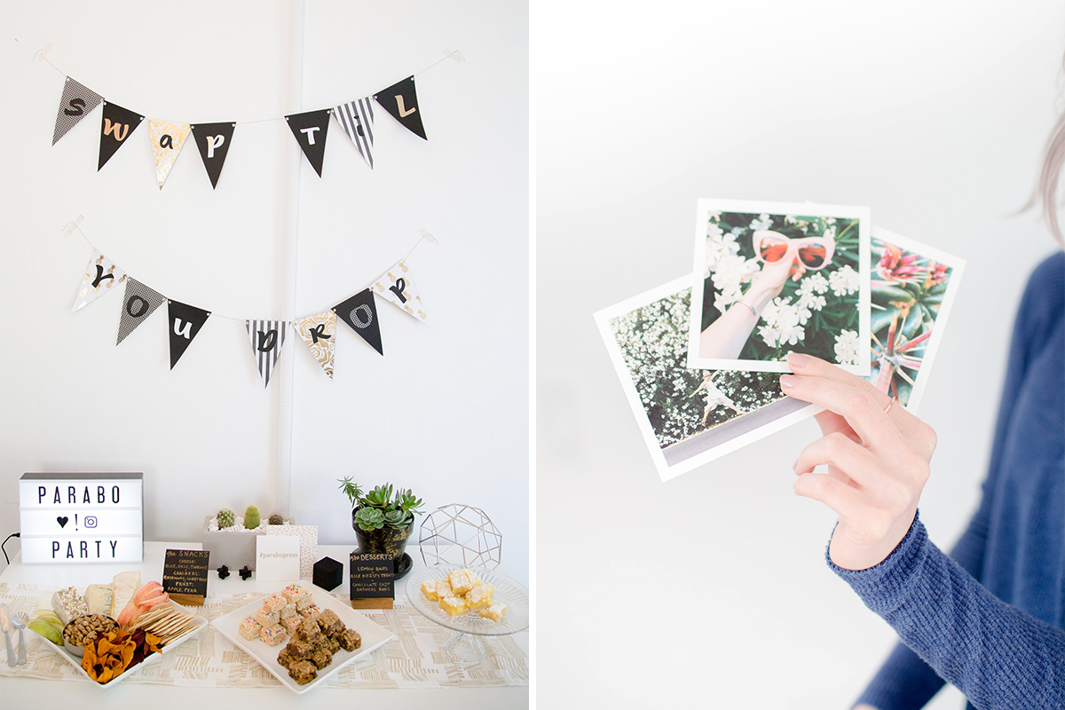 How to Throw a Parabo Print Swap Party
