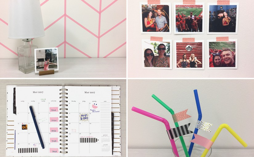 Nine Ways to Decorate Your Life With Washi Tape