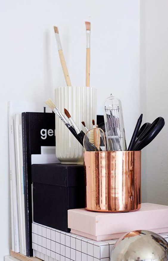 Editors' Picks: Metallic Décor