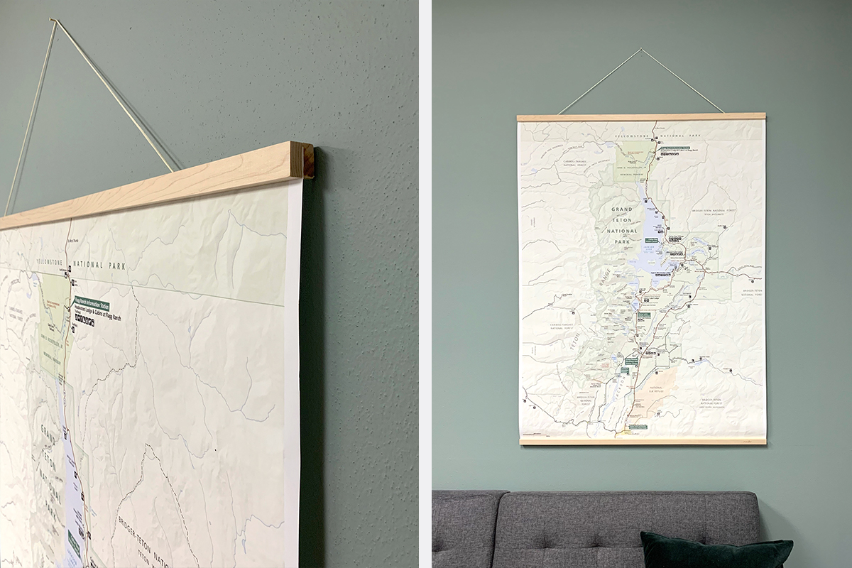 Trail Map Engineer Prints and Other Large-Format Art