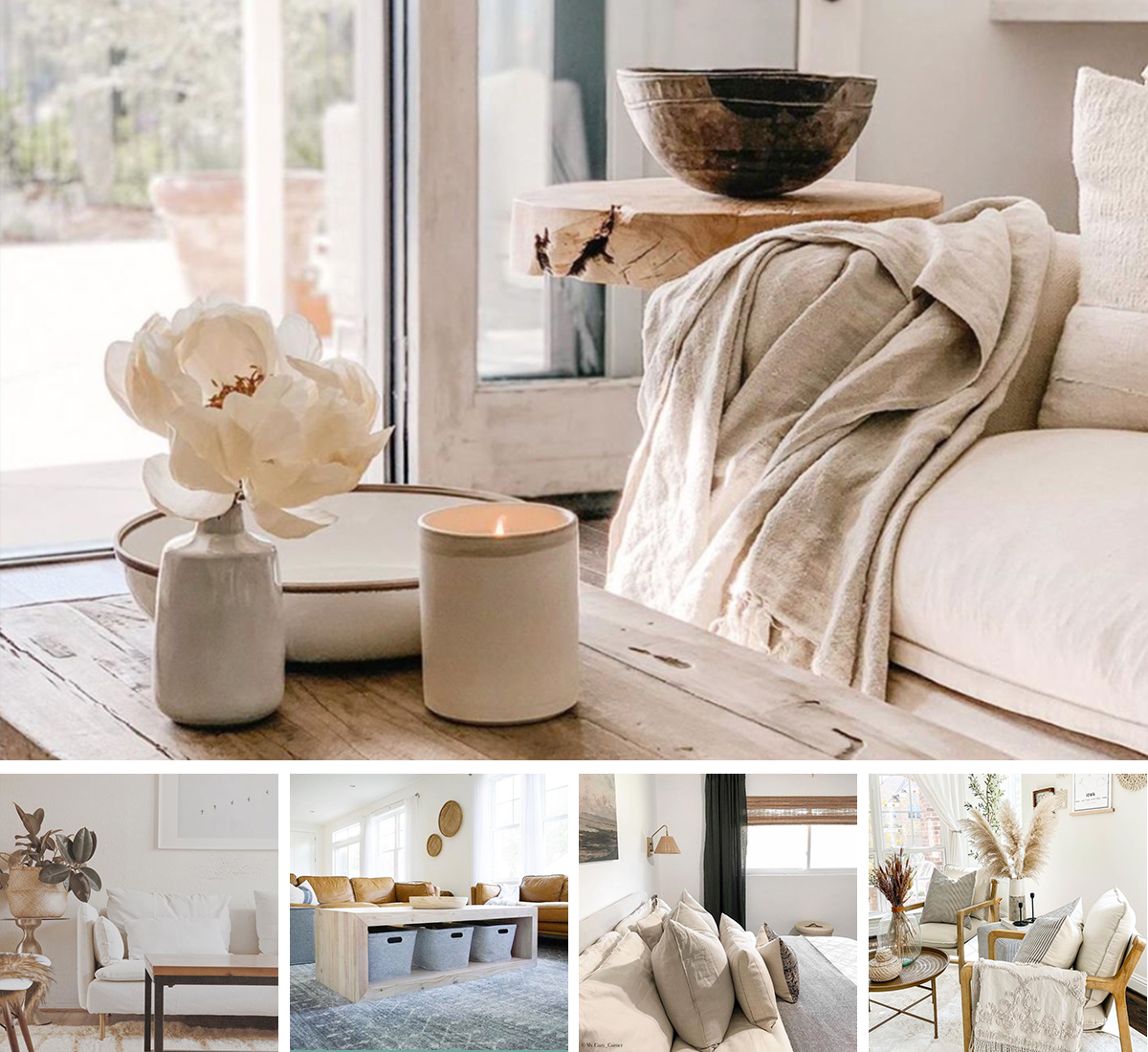 dreamy neutral interior design